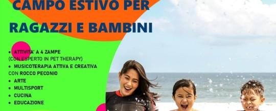 Campo estivo per ragazzi e bambini 2020 – Attività diurne estive in sicurezza